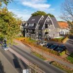 Verhoogd aangezicht appartementencomplex te Ermelo, Putterweg 17