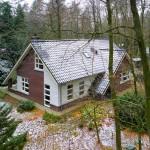 Bovenaanzicht vrijstaande woning te Putten, Prinshendrikweg 90