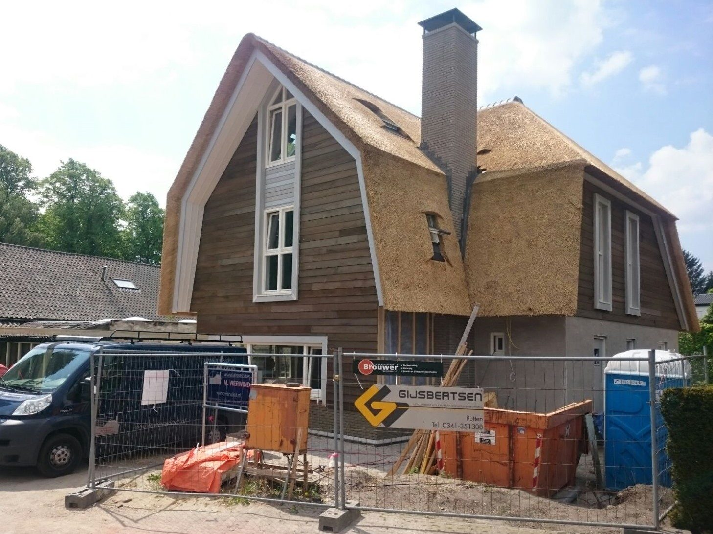 Vrijstaande woning in Laren (in uitvoering)